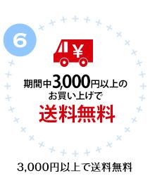6.3,000円以上で送料無料